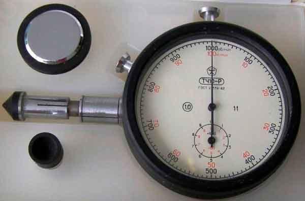 механический часовой тахометр