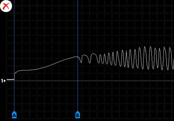 осциллограмма датчика кислорода