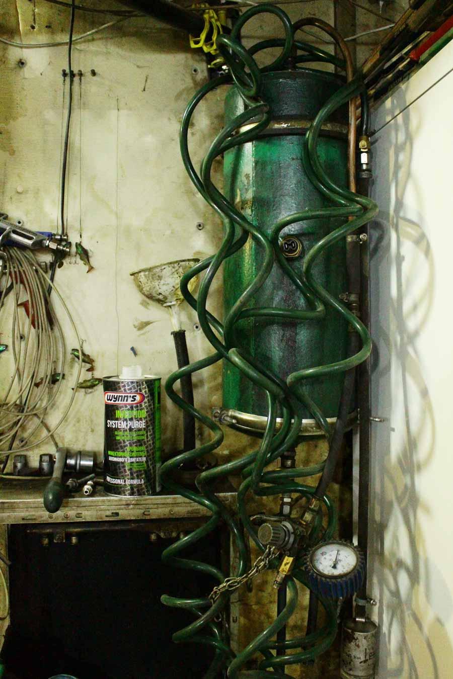 самодельный аппарат для промывки инжектора