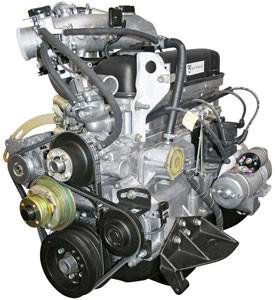 Внешний вид двигателя УМЗ-4216